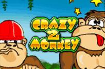 Crazy Monkey 2 - играть на деньги в Вулкане Удачи